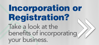 Take a look at the benefits of incorporating your business.
